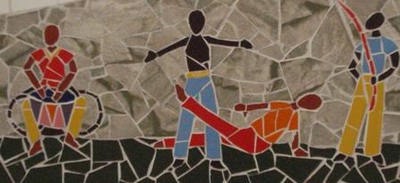 Mural da APAE em Santo Amaro - Bahia