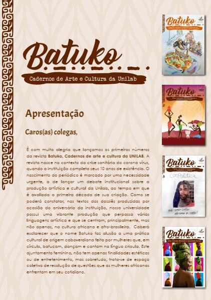 Visualizar Apresentação - Batuko - Cadernos de Arte e Cultura da Unilab